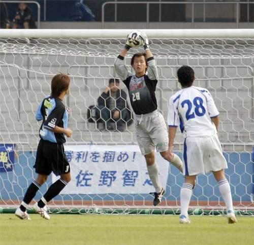 2005年天皇杯第4(フロンターレ×佐川急便東京SC戦)1