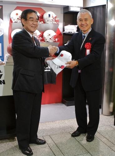アメフトW杯川崎大会オフィシャルブース02